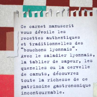 Les recettes de bouchons Lyonnais Editions Les Cuisinières-boutique-foulard-soie-lyon