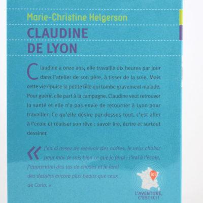 Claudine de Lyon Auteur: Marie Christine Helgerson,-boutique-foulard-soie-lyon