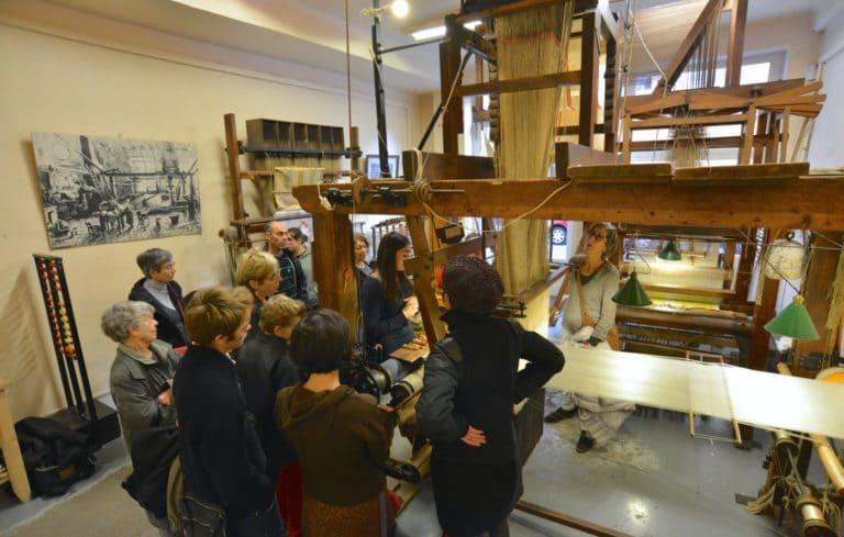 Visite commentée de la Maison des Canuts Lyon Croix Rousse