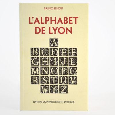 L'Alphabet de Lyon Editions Lyonnaises d'art et d'histoire-boutique-foulard-soie-lyon