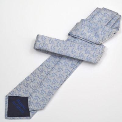 millefiori-cravate-soie-homme-bleu ciel-bleu_1-soie-jacquard-made-in-france-boutique-foulard-soie-lyon