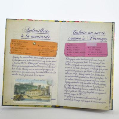 Recettes lyonnaises Editions Les Cuisinières-boutique-foulard-soie-lyon